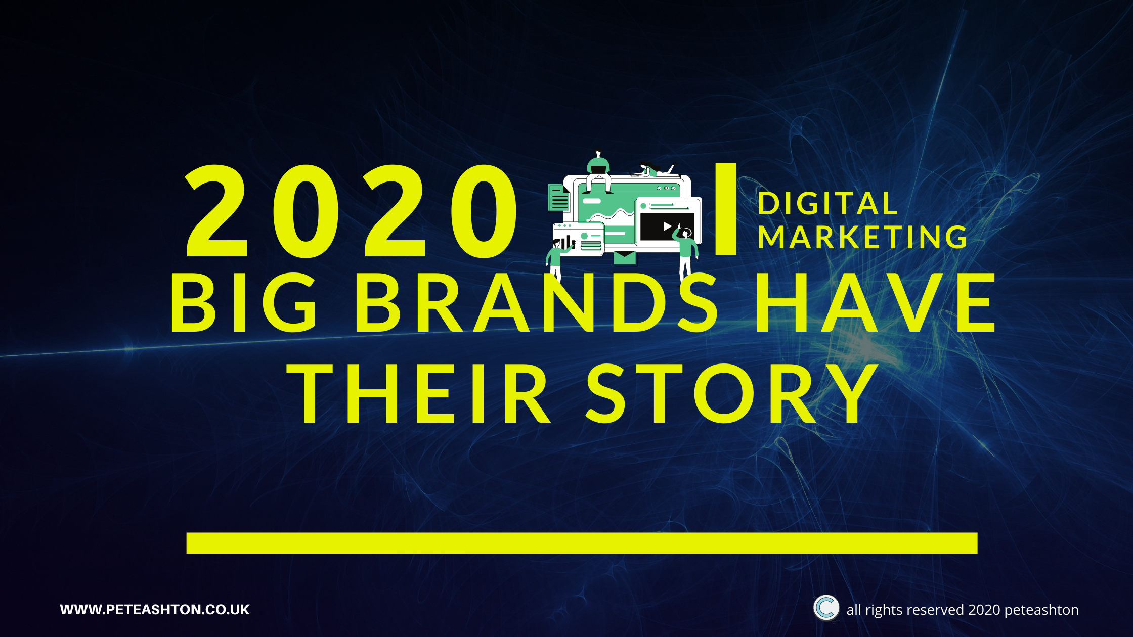 Big brands have their story